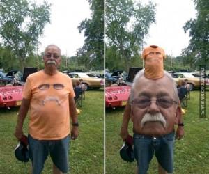 Mistrzowska zamiana twarzy