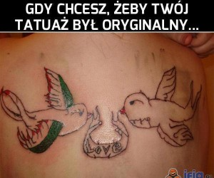 Oryginalne tatuaże