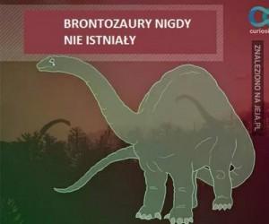 Brontozaury nigdy nie istniały