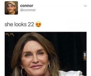 Wygląda na 22?