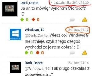 Widać, że to prawdziwy Microsoft...