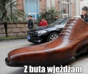 Z buta wjeżdżam