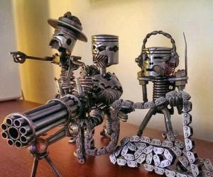 Metalowa odmiana sztuki