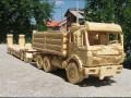 Pojazdy z drewna