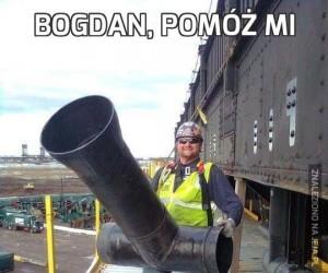 Bogdan, pomóż mi