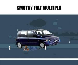Smutny Fiat Multipla