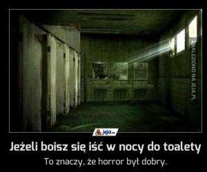 Jeżeli boisz się iść w nocy do toalety