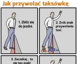 Jak przywołać taksówkę