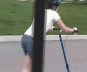 Idę pobiegać rowerem...