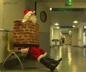 Mikołaj znowu zjadł za dużo ciastek