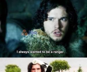 Snow zawsze chciał być Rangerem