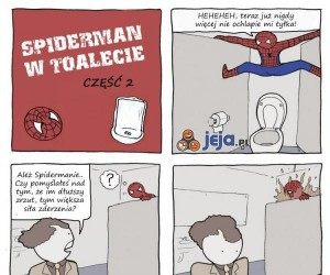 Spiderman jakiego nie znacie