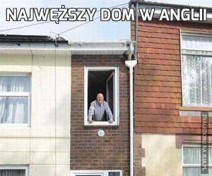 Najwęższy dom w Anglii