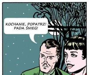 Romantyczny śnieżek