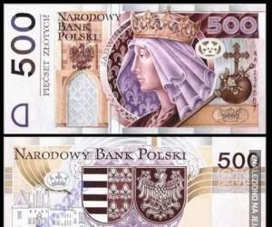 Banknot pięćsetzłotowy