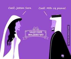 Większość saudyjskich małżeństw