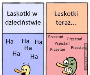 Łaskotki kiedyś i dziś