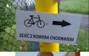 Zejść z rowera chodnikiem