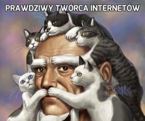 Prawdziwy twórca internetów
