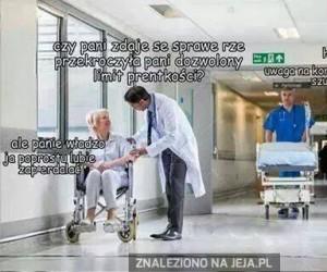 Tymczasem w szpitalu