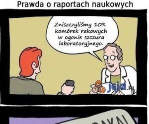 Prawda o raportach naukowych