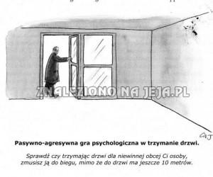 Trzymanie drzwi
