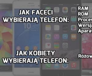 Wybór telefonu