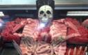 Sklep mięsny na Halloween
