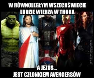 Jezus w Avengers
