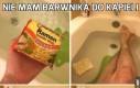 Nie mam barwnika do kąpieli