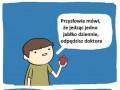 1 jabłko dziennie odpędza doktora, a miecz...