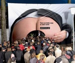 Reklamowa dupa