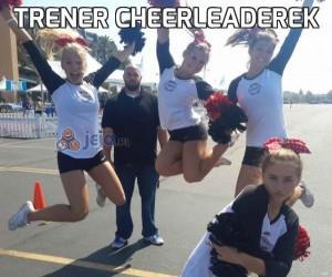 Trener cheerleaderek