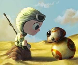 Rey i BB-8