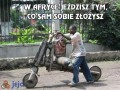 W Afryce jeździsz tym, co sam sobie złożysz