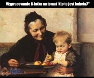 Kto to jest babcia?