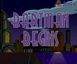 Bartman - Początek