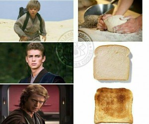 Gdyby Anakin był tostem