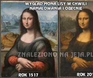 Oryginalny wygląd Mona Lisy