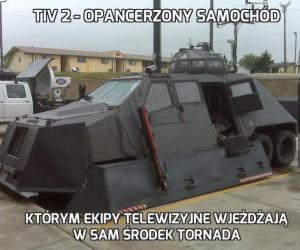 TIV 2 - opancerzony samochód