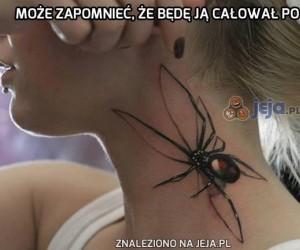 Nie ma to jak realistyczny tatuaż z pająkiem