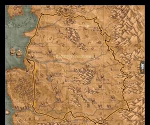 Jeżeli naniesiemy na wiedźmińską mapę kontury Polski