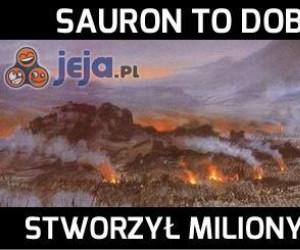 Sauron zaradził bezrobociu w Mordorze