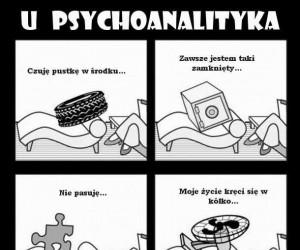 U psychoanalityka