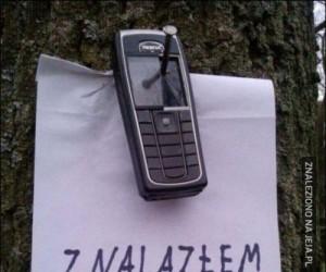 Znalazłem telefon!