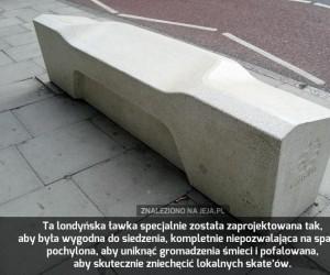 Londyńska ławka