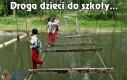 Droga dzieci do szkoły...
