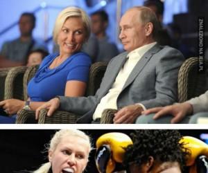 Nowa dziewczyna Putina