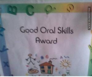 Oj, musi być utalentowany!