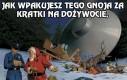 Mikołaj korumpuje policjanta!